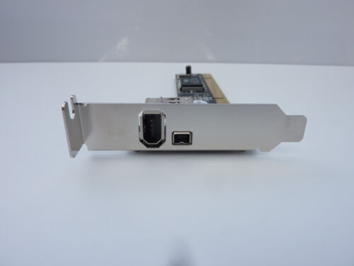 3 PORT PCI LOW PROFILE 1394a FIREWIRE ADAPTER CARD - NEW