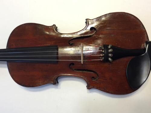 Old Antique 200-250 years old 4/4 Violin (Maybe French or Italian)