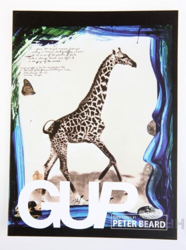 GUP EXTRA EDITION #1 SPECIAL LIMITED EDITION OF GUP MAGAZINE AND PETER BEARD