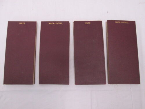 4 Maps of Great Britain by Sifton Praed & Co Ltd The Map House 1920s