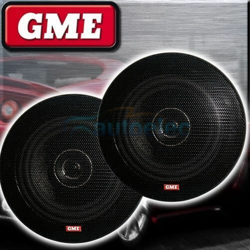 """GME 51/4"""" Flush Speakers 130mm Pair Car Coaxial 2 Way Stereo System SPK011"""