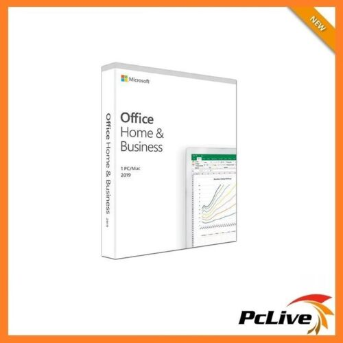 Microsoft Office Home and Business 2019 1 PC / Mac Word Excel PowerPoint Outlook