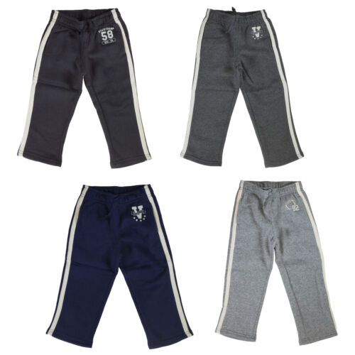 Jumping Beans Sweatpants for Toddler Boys - Striped Pants for Kids