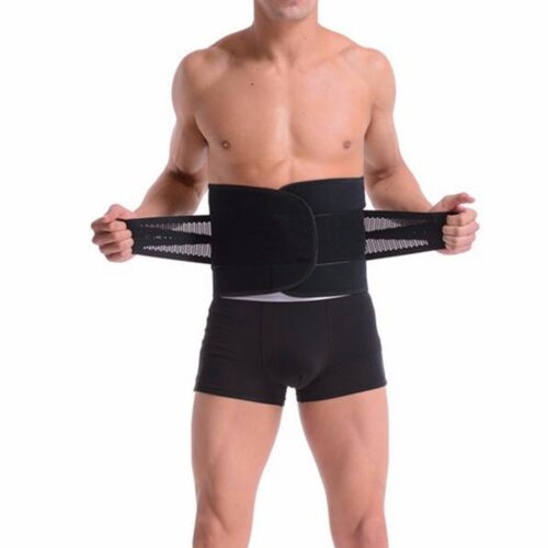 Unisex Women Men's Waist Trainer Shaper Adjustable Support Girdle Belt