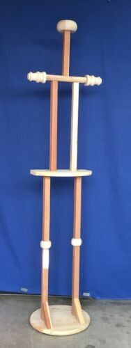 HEAVY DUTY ARMOR FULL DISPLAY STAND * MADE in U.S.A. - approx. six feet tall.