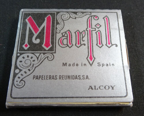 ANTIQUE CIGARETTE ROLLING PAPER MARFIL EARLY 1900 TOBACCIANA COLLECTIBLES 013CC