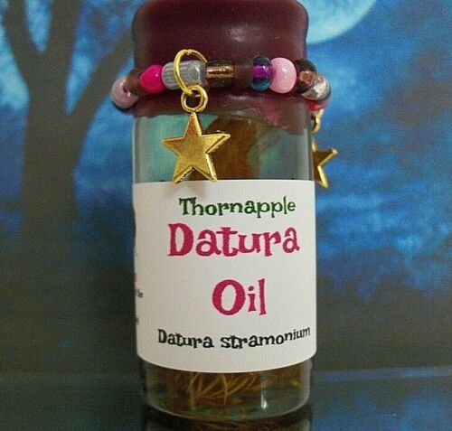 Datura Oil Thornapple Magick Wiccan Witchcraft Pagan Ritual Spell-Casting 20 ml