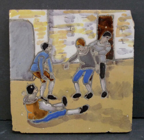 Vintage Don Quixote Tile Spain (4)