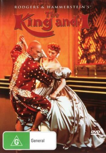 The King and I (1956)  - DVD - NEW Region 4, 2