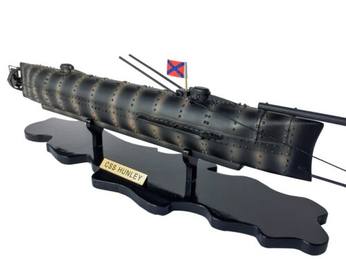 CSS H. L. Hunley Limited Civil war Model Submarine 25""