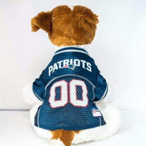 New England Patriots Dog Jersey NFL Football Officially Licensed Pet Product
