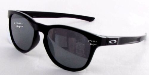 OCCHIALI DA SOLE OAKLEY mod.STRINGER 9315-03  POLISHED BLACK lens BLACK IRIDIUM