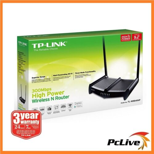 TP-Link TL-WR841HP 300Mbp High Power Wireless Router Range Extender Access Point