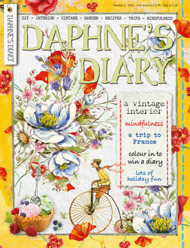 Daphne's Diary Magazine with Drawing Book - Issue 3 2019 - NEW
