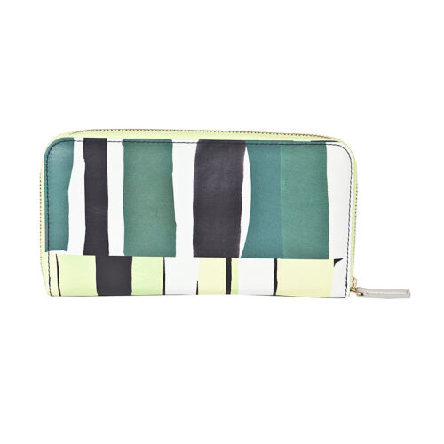 Paul Smith portafoglio zip collage, Long zip wallet block collage