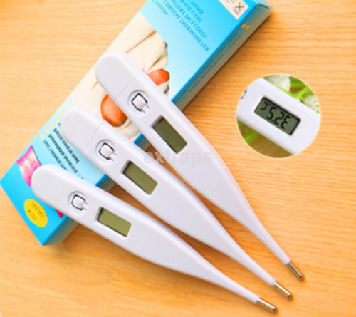 Baby Child Body Digital LCD Heating Thermometer Temperature Measurement CA