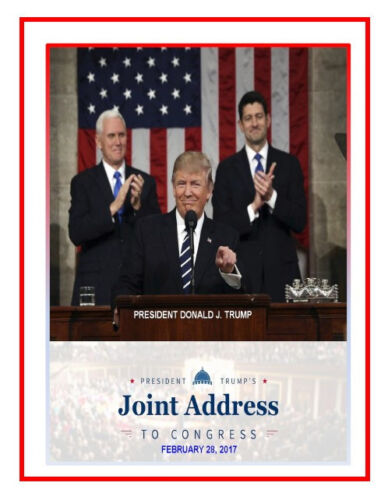 ON HOLD –ITEM DJT005- JOINT SESSION ADDRESS - PRESIDENT DONALD TRUMP - 2/28/2017