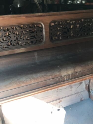 Antique Vintage Upright Piano