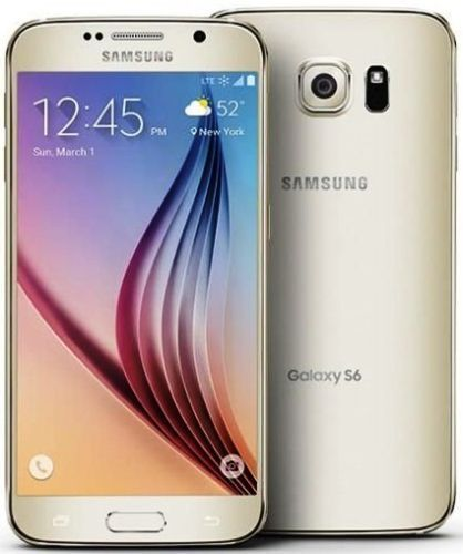 """New Samsung Galaxy S6 SM-G920A AT&T Unlocked 32GB Android 5.1"""" Smartphone Gold"""