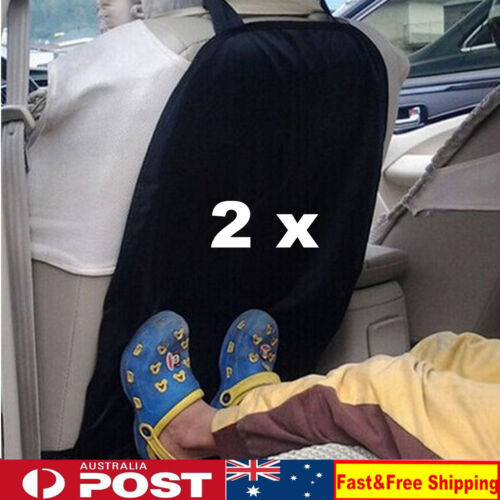 2 x Car Baby Seat Back Protector Cushion Pad Cover Children Kick Mat  Mud Clean