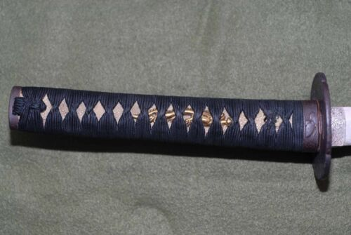 Vintage Japanese Sword in Mounts, Wakizashi