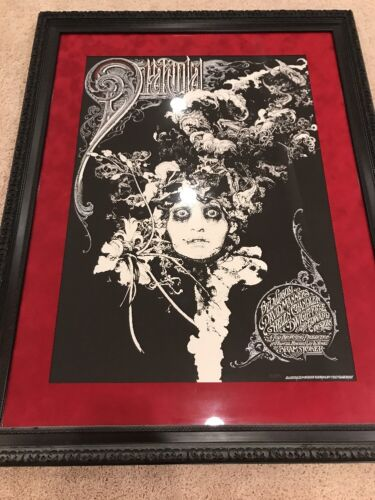 Aaron Horkey Dracula Banks Zouravliov Movie Poster 253/300 Mondo Lugosi