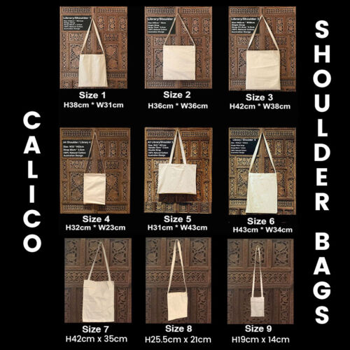Calico Bags Bulk Library Calico Bag Shoulder Calico Bag Calico Tote Bags Eco Bag <br/> Eco Tote Bags Calico Shoulder Bags Promotional Bags
