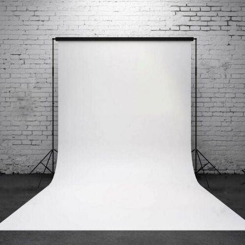 Pure White Photography Wall Backdrop Studio Photo Props Vinyl Background 3x5FT