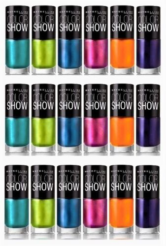 Maybelline Color Show Nail Polish Lacquer (CHOOSE YOUR COLOR) Buy2 Get 1 FREE
