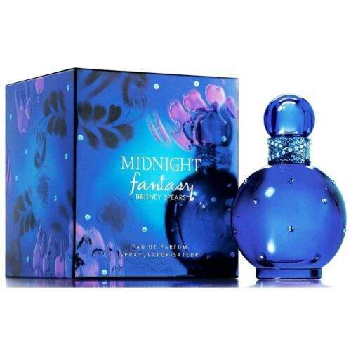 MIDNIGHT  FANTASY  by  Britney  Spears  for  Women  3.4  oz  EDP  New  in  BOX