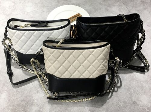 MW009119 - FASHION QUILTED SHOULDER CROSS BODY BAG