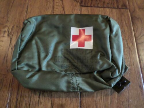 U.S MILITARY FIRST AID KIT POUCH GENERAL PURPOSE VEHICLE OR AIRCRAFT ATTACHMENTSFirst Aid, Medic Gear - 156464
