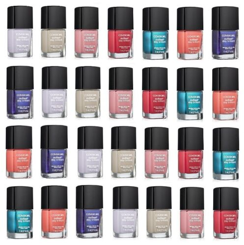 Covergirl Outlast Stay Brilliant Nail Gloss Polish CHOOSE UR COLOR B3 Get 30%OFF