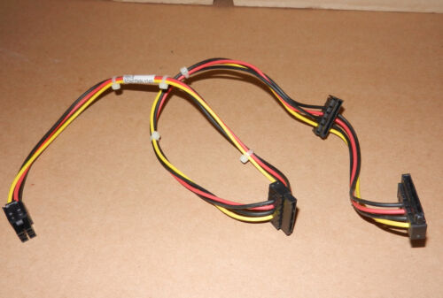 4 x 4-Pin To 3x SATA Motherboard Power Cable 611895-001 _ This sale for 4 cables
