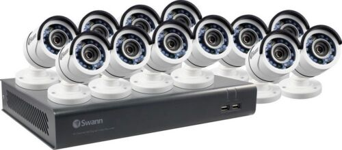 New Swann SWDVK-1645912-us 16 Channel 1080p Security System & 12 1080p cameras