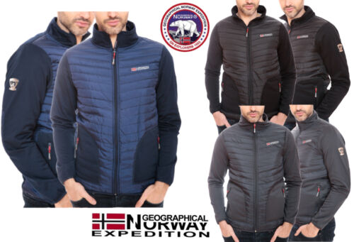 NEW GEOGRAPHICAL NORWAY TIRION MEN'S SOFTSHELL RAIN SPORTS JACKET