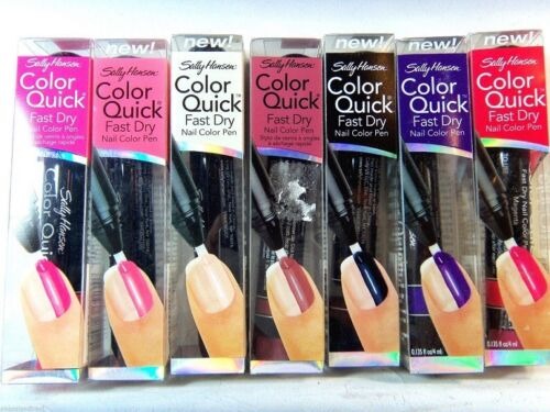 Sally Hansen Color Quick Fast Dry Nail Color Pen CHOOSE YOUR COLOR B3G 30% OFF