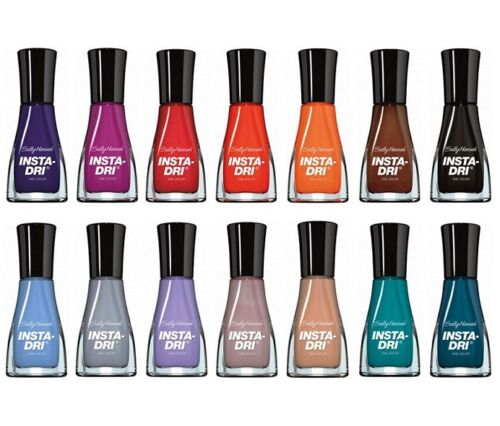 Sally Hansen Insta-Dry Fast Dry Nail Polish CHOOSE YOUR COLOR New B2G 15% OFF