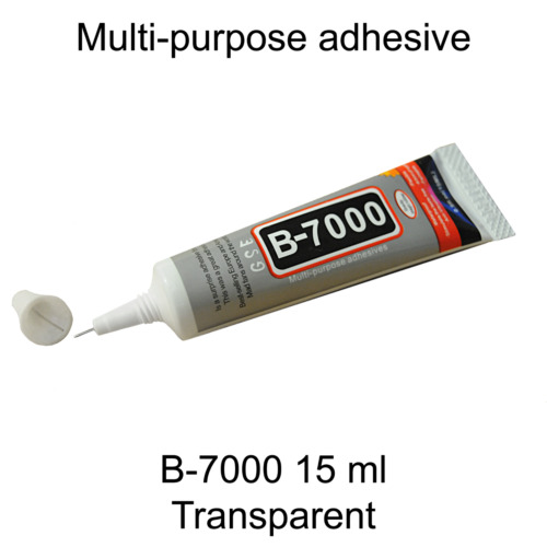 B7000 Clear Strong Glue Adhesive B-7000 Craft Phone Screen Frame Sealant. 043 <br/> ✔️ Long Shelf life! 🚚 Fast&Free Delivery ☘️ Ireland