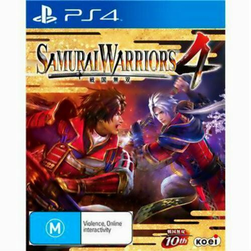 Samurai Warriors 4 IV PS4 Game ** NEW sealed AUSSIE version ** PlayStation 4 PAL