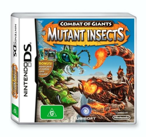 Combat of Giants MUTANT INSECTS game *NEW for Nintendo DS 2DS 3DS XL NDS kid toy