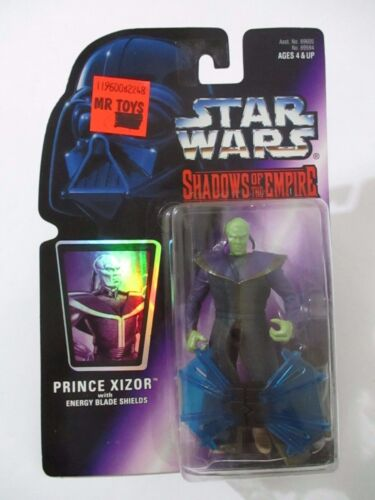 STAR WARS Shadows of the Empire Prince Xizor  Kenner 1996 Mint On Card