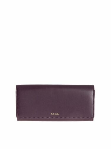 Paul smith Portafoglio plain, plain leather trifold