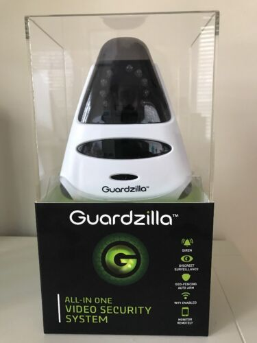 New Sealed in Box Guardzilla HD All In One Video Security System White GZ501W