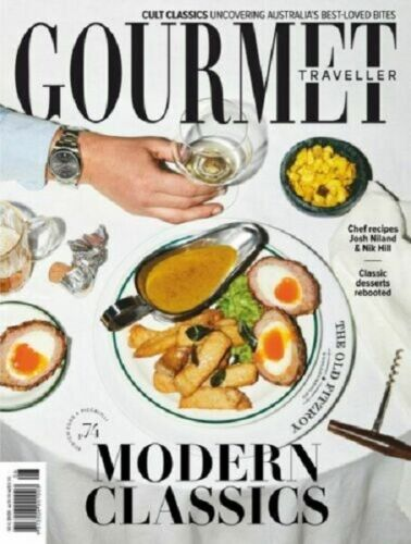 GOURMET TRAVELLER ANNUAL COOKBOOK GT 2019 Collection Of The Years Best Recipes