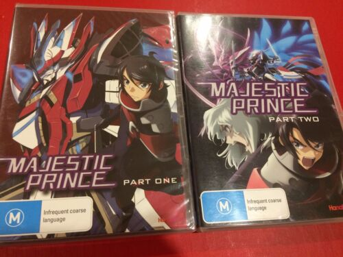 Majestic Prince Part One & Two DVD (4 Discs ) Region 4 Like New!