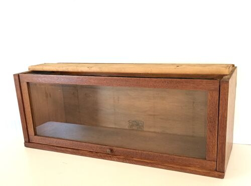 Antique Globe Wernicke Q-Sawn Oak Mission-Arts Crafts BARRISTER BOOKCASE Section