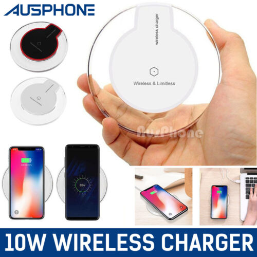 iPhone12 11 Pro Max XR Wireless Charger Charging Pad For APPLE Samsung S20 S10 9