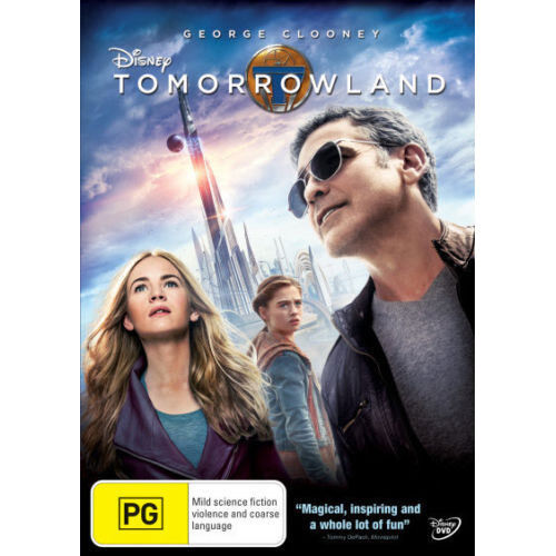 Tomorrowland NEW DVD (Region 4 Australia)