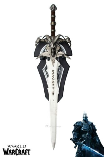 WORLD OF WARCRAFT - LICH KING FROSTMOURNE SWORD REPLICA (with FREE WALL PLAQUE)